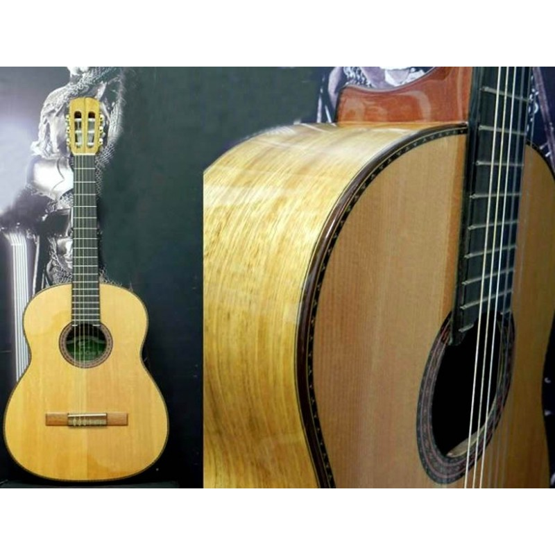 Guitarra clasica Breyer Luthier 110 Roble y Abeto Americano