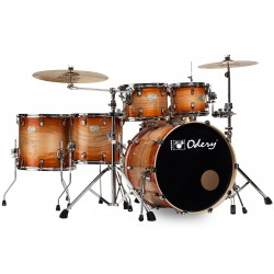 Bateria Odery 6 cuerpos Fusion Fluence orange