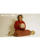 Kanjira India remo y tradicional